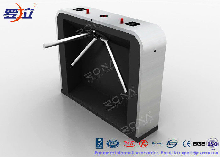 Reliable Easy Tripod Turnstile Gate Solution 30~35 Persons / Min Passing Speed