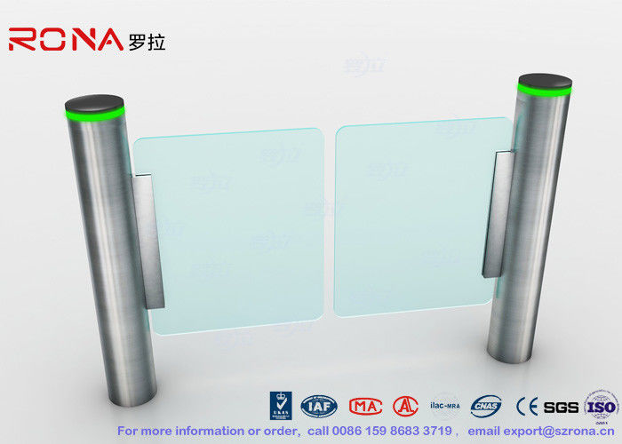 Office Building Automatic Swing Gates Solution For Visit Management System