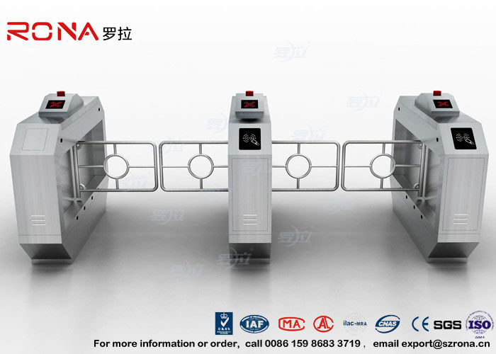 RFID Automatic Swing Barrier Gate Smart Arm Revolving Door Security Access Control Turnstile