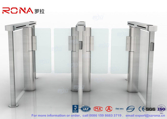 CE Approved Speed Gate Turnstile Pedestrian Management Automated Gate Systems