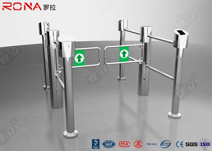 Full Automatic Swing Gate Turnstile Sigle / Bi - Directional Supermarket Electronic Type