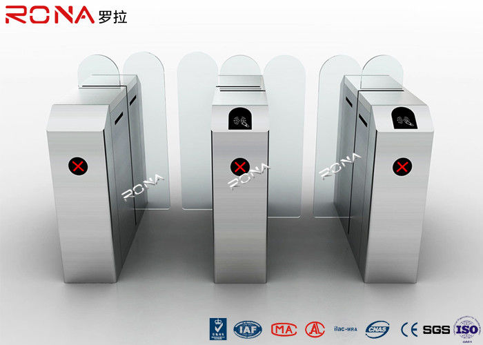 304 Stainless Steel Sliding Barrier Gate Electronic security entrance turnstile