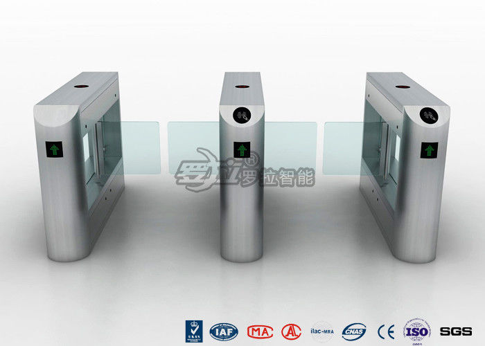 500-900mm Passage Way Pedestrian Swing Gate Automatic Systems Access Control With Card Reader