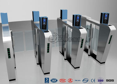 چین Waist Height Turnstile Security Systems , Face Recognition Speed Fastlane Turnstile کارخانه